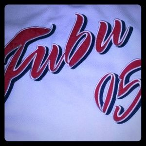 Fubu The Collection spell out Jersey size XL